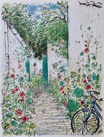 Litografía Cassigneul  - Le Jardin