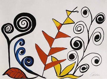 Litografía Calder - Le jardin fantastique