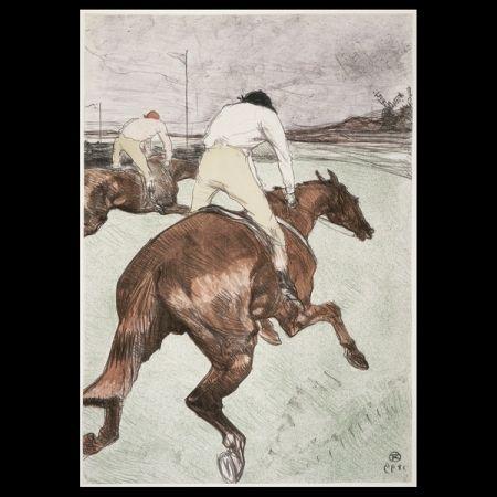 Litografía Toulouse-Lautrec - Le jockey