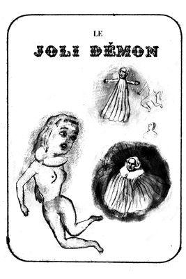 Litografía Dutertre - Le joli démon