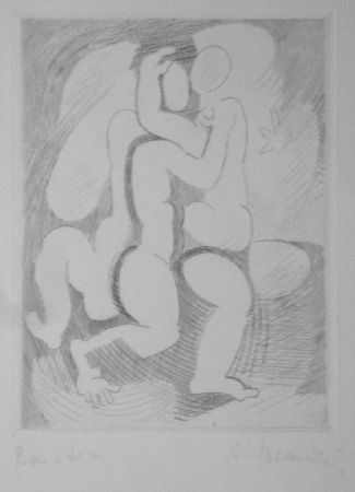 Grabado Beaudin - Le Jongleur 2