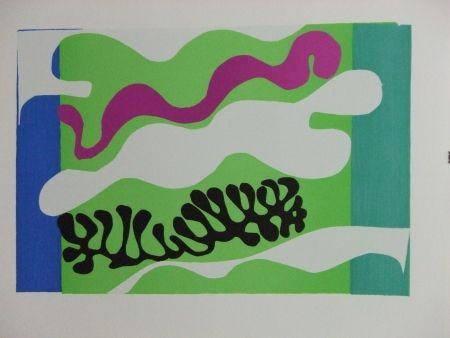 Litografía Matisse - Le Lagon..