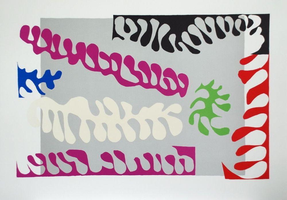 Colografía Matisse - Le Lagon I (Lagoon I)
