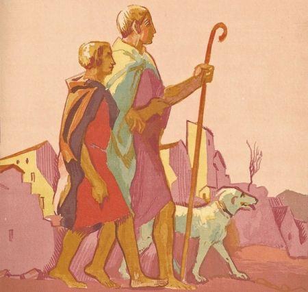 Libro Ilustrado Denis - Le Livre de Tobie, Traduit sur la Vulgate.Illustrations de Maurice Denis, Gravées sur bois par Jacques Beltrand