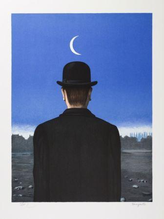 Litografía Magritte - Le Maître d'École