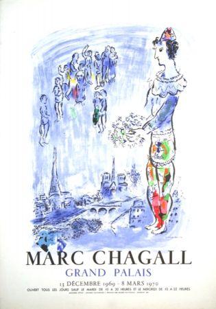 Litografía Chagall - Le Magicien