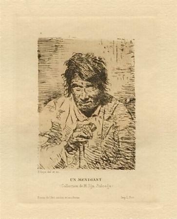 Grabado Lucas - Le mendiant (The Beggar)