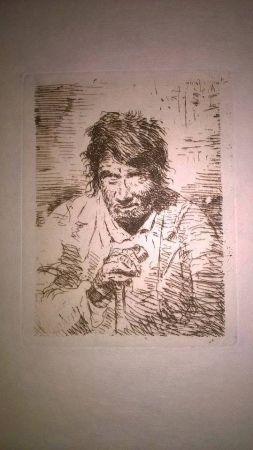 Grabado Goya - Le mendiant (The Beggar)