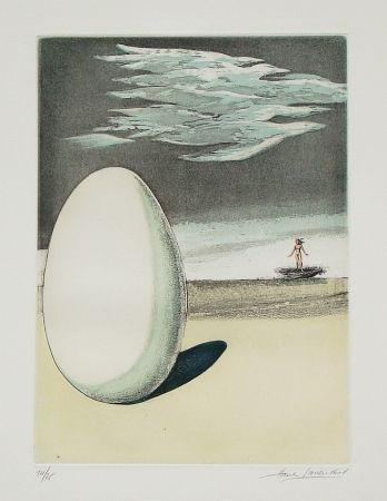Aguafuerte Y Aguatinta Laventhol - Le miroir aux alouettes