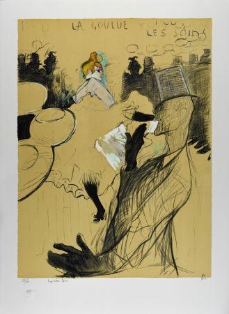 Litografía Toulouse-Lautrec - LE MOULIN ROUGE : La Goulue & Valentin le désossé, 1891
