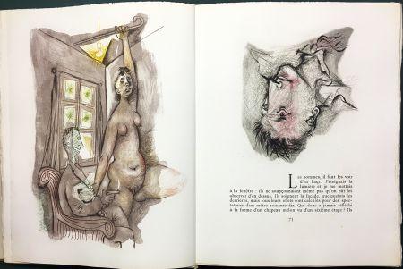 Libro Ilustrado Prassinos - LE MUR (Jean-Paul Sartre). 1945-1946.