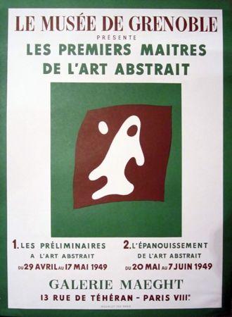 Litografía Arp - Le Musee de Grenoble, Galerie Maeght