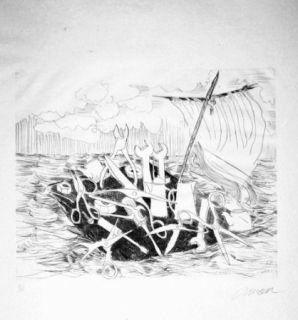 Libro Ilustrado Arman - Le naufrage de Méduse