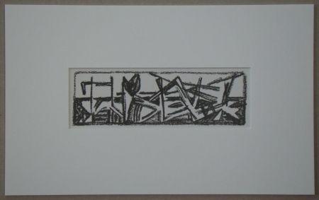 Litografía Van Velde - Le Noir est une couleur