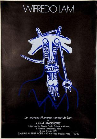 Litografía Lam - Le Nouveau Monde de Lam  et Orsa Maggiore