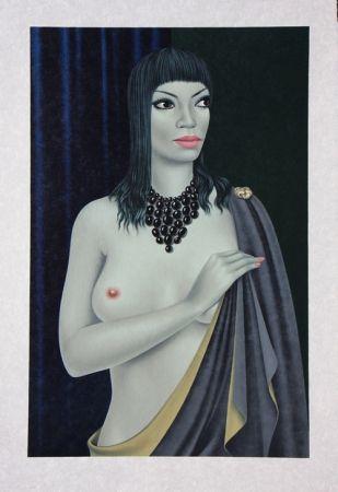 Litografía Labisse - Le Nu avec le Cap - Nude with a Cape