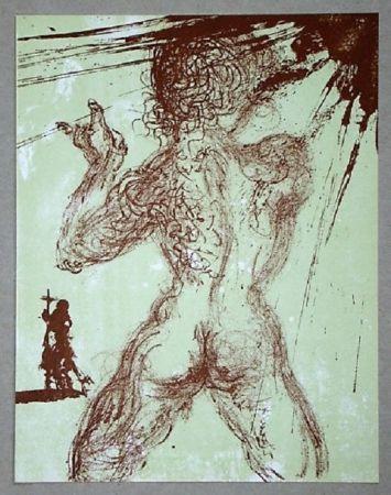Litografía Dali - Le Pécheur