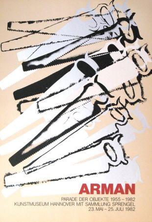 Serigrafía Arman - '' Le Parade des Objets ''