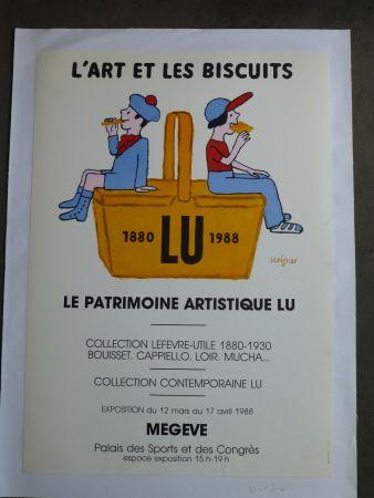 Cartel Savignac - Le patrimoine artistique LU ,l'art et les biscuits