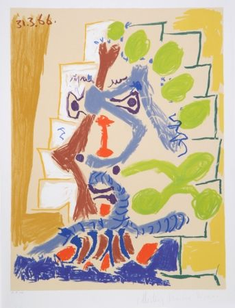 Litografía Picasso - Le Peintre
