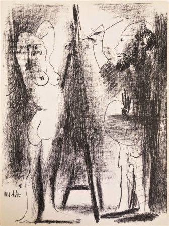 Litografía Picasso - Le Peintre et Son Modèle