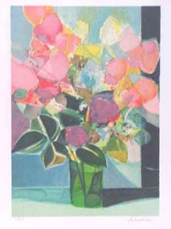 Litografía Hilaire - Le petit bouquet
