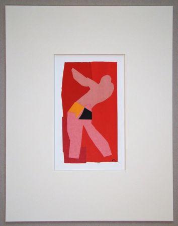 Litografía Matisse (After) - Le petit danseur - 1947
