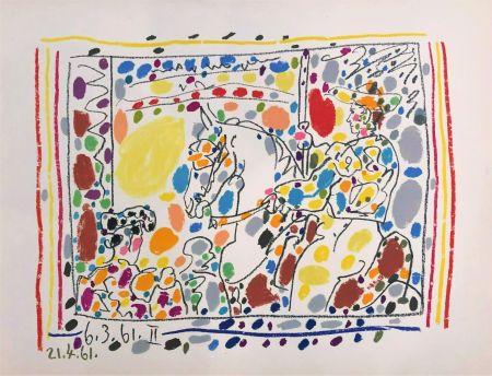 Litografía Picasso - Le Picador II