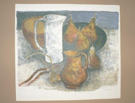 Litografía Minaux - Le pichet