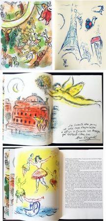 Libro Ilustrado Chagall - LE PLAFOND DE L'OPERA DE PARIS. Lithographie originale de Marc Chagall (1965).