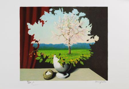 Litografía Magritte - Le Plagiat (Plagiary)