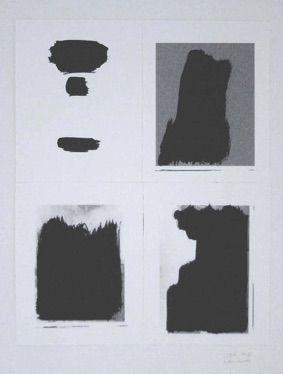 Serigrafía Buraglio - Le Plaisir de peindre