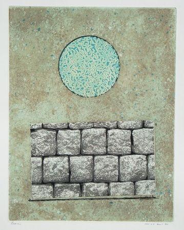 Aguafuerte Y Aguatinta Ernst - Le plus beau mur de mon royaume