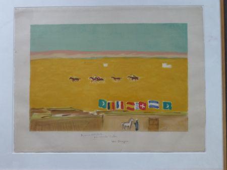 Litografía Van Dongen - Le Polo À Alexandrie