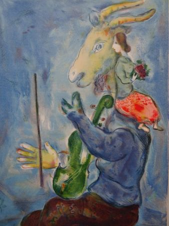 Litografía Chagall - Le Printemps