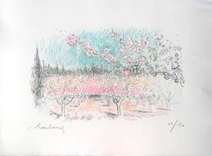 Litografía Hambourg - Le printemps