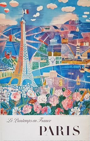 Offset Dufy - Le Printemps  en France