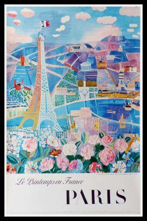 Litografía Dufy - LE PRINTEMPS EN FRANCE PARIS
