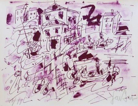 Litografía Paul  - Le quatuor