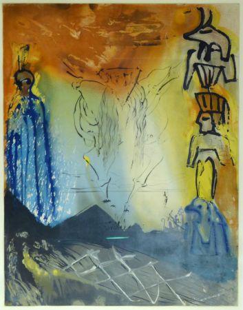Litografía Dali - Le Rêve de Moïse / Moses' Traum