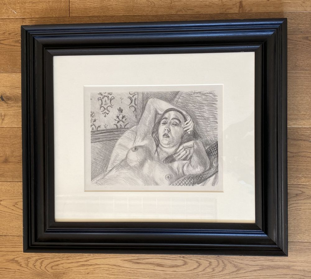 Litografía Matisse -  Le repos du modele