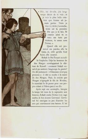 Libro Ilustrado Engels - Le roman de Tristan et Iseut