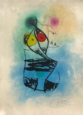 Aguafuerte Y Aguatinta Miró - Le scorpion joufflu