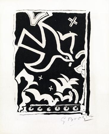 Grabado Braque - Le soleil des eaux