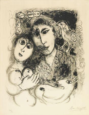 Litografía Chagall - Le sortilege