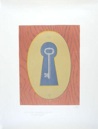 Litografía Magritte - Le Sourire du Diable - The Devil' Smile