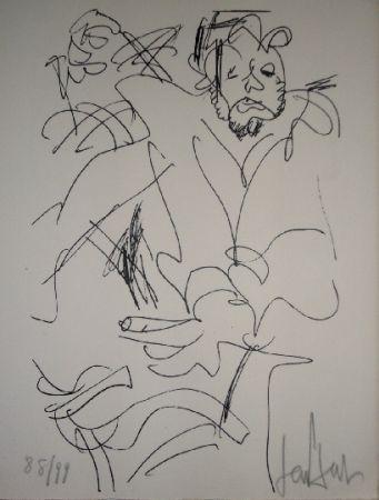 Litografía Paul  - Le spectateur
