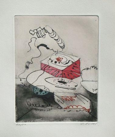 Aguafuerte Y Aguatinta Visat - Le Téléphon