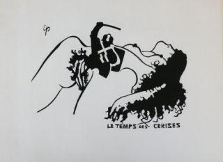 Litografía Ipousteguy - Le temps des cerises -  mai 1968