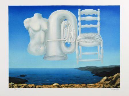 Litografía Magritte - Le Temps Menaçant